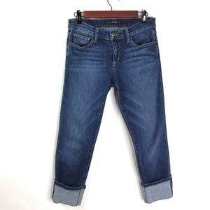Joe's Jeans Cuffed Cropped Jeans Lexington 27